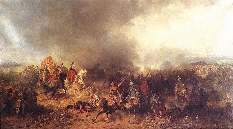 Юзеф Брандт «Битва под Хотином в 1621 году»