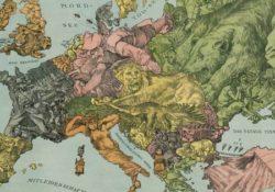 Границы стран в Первую мировую войну