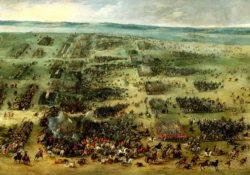 Картина Питера Снаерса «Битва под Кирхгольмом» (1630).