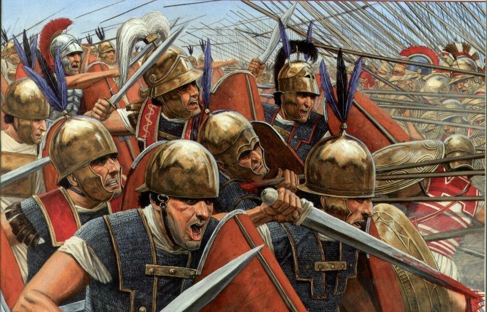 Римские легионеры времен Первой Пунической войны