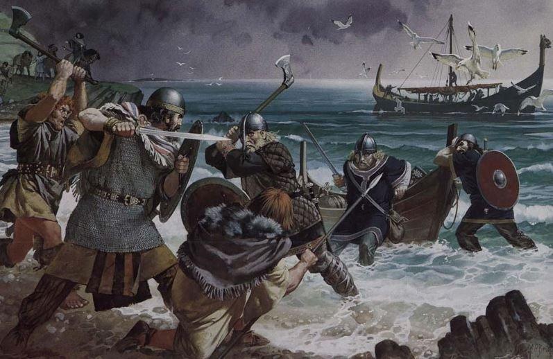 Англо-саксонское завоевание Британии