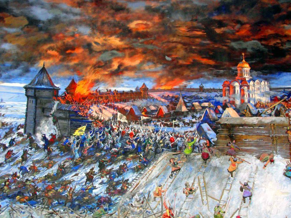 Дюденева рать или как русские князья за власть боролись