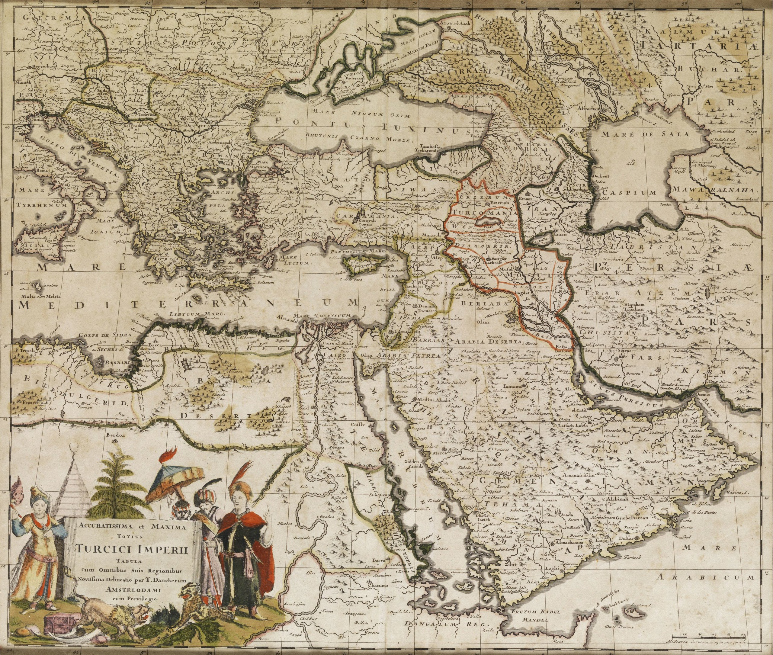 Проект создания антиосманской коалиции в XVI в. между Московией и Персией