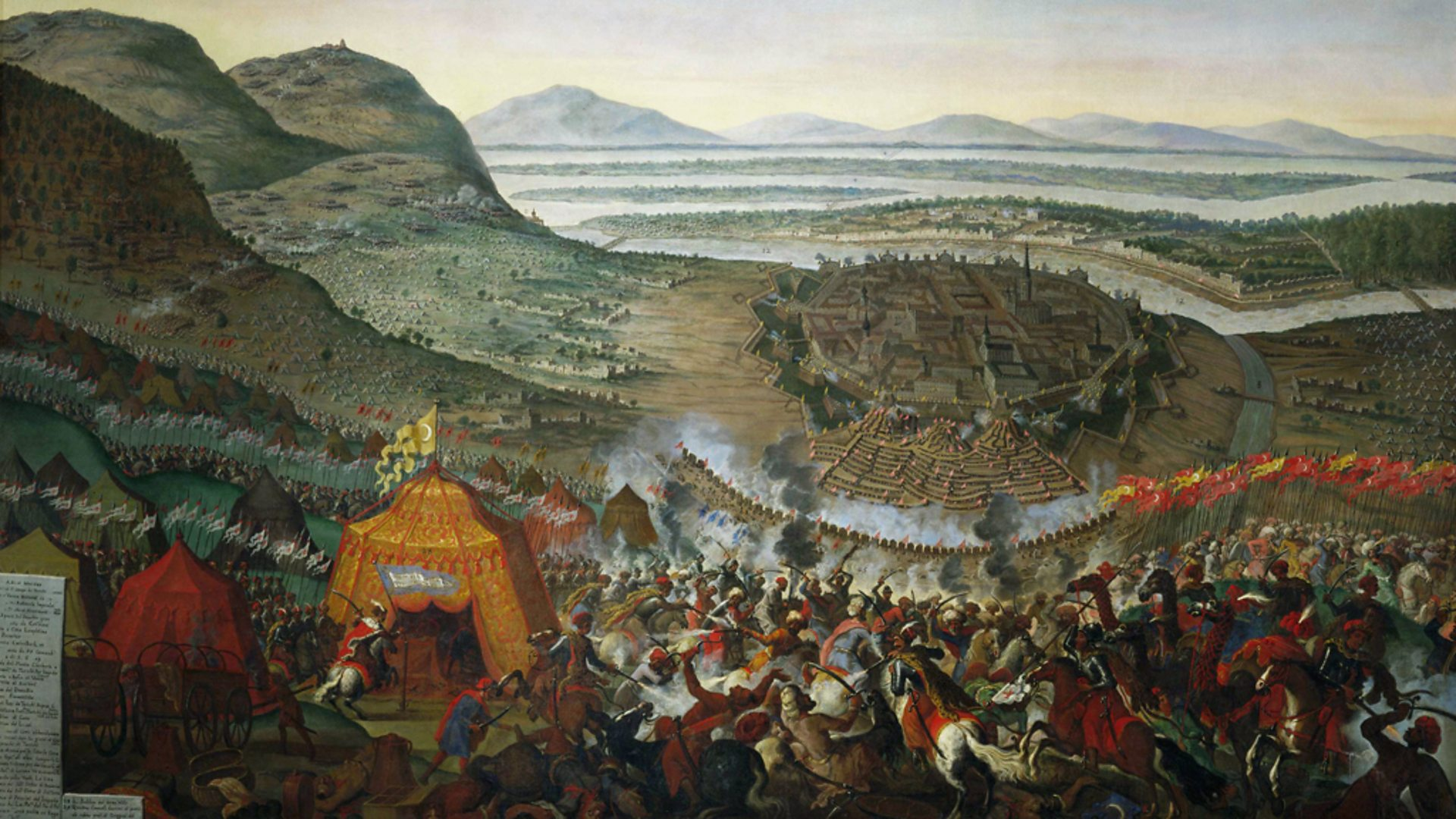 Осада Вены 1683г. Два месяца надежды