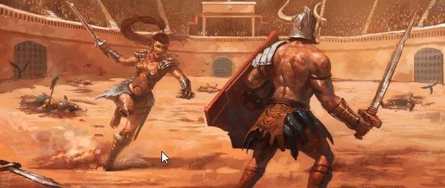 Бой в Колизее