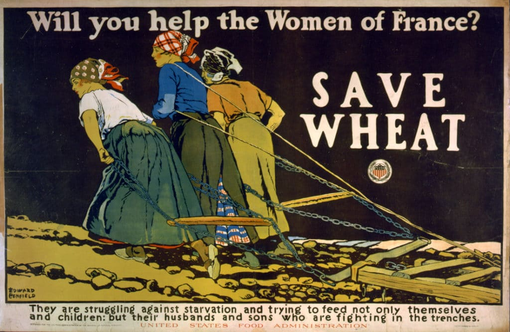 Плакат Продовольственной администрации США (Library of Congress)