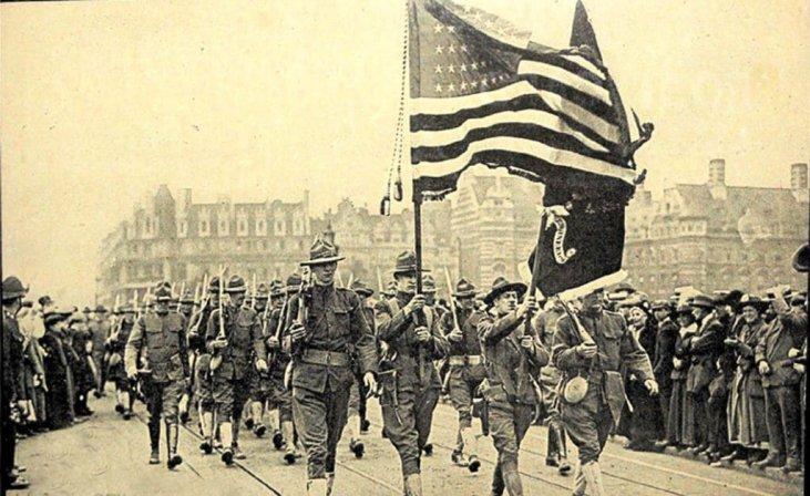 Как Первая мировая война сделала США ведущей мировой державой