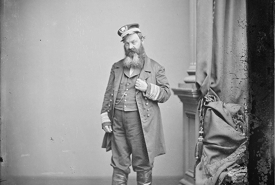 Коммодор ВМС США Уильям Д.Портер собственной персоной.