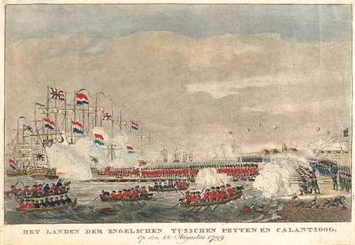 Высадка русских и англичан в Голландии