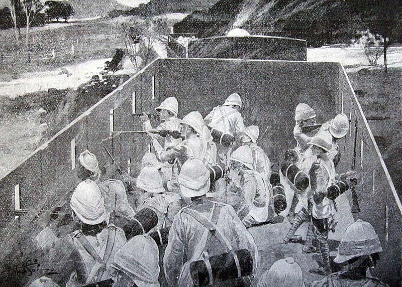 Британский бронепоезд в сражении у Магерсфонтейна (Западный фронт)