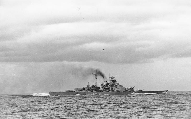 Бисмарк в 1941 году