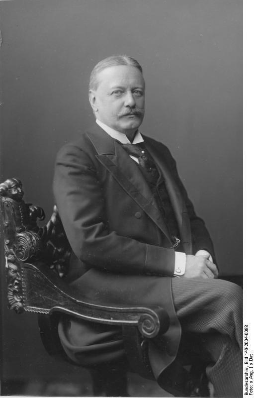 Граф, князь Бернгард Генрих Карл Мартин фон Бюлов