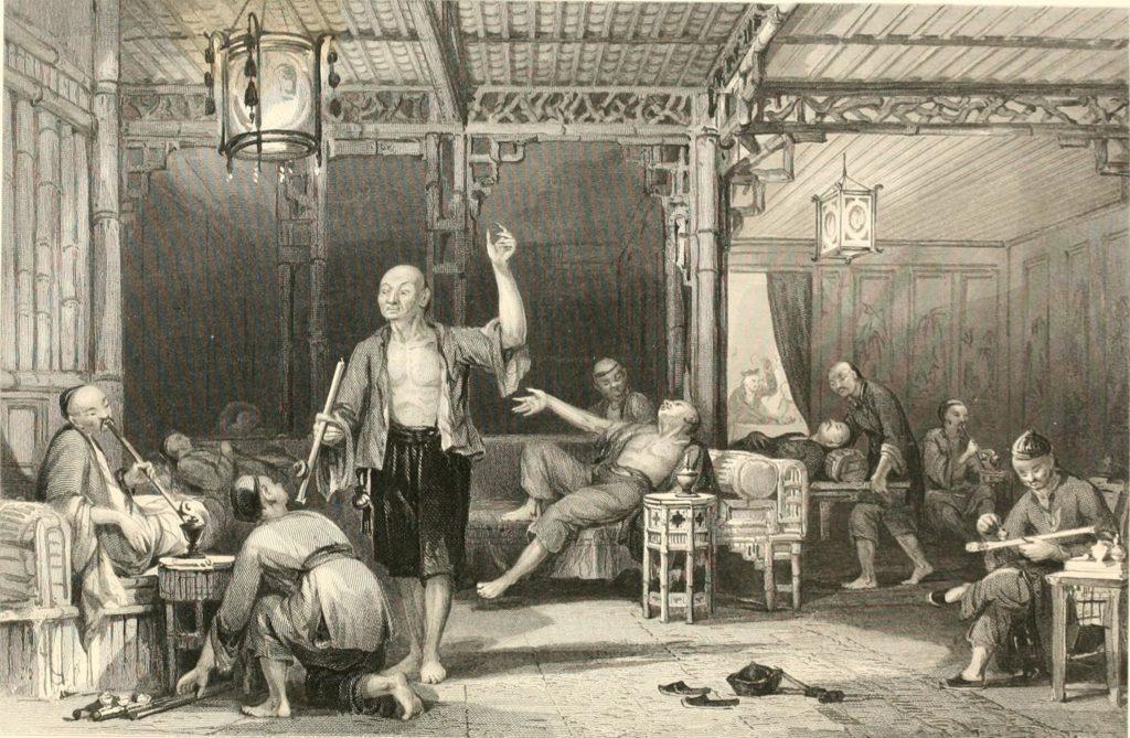 Китайские курительные дома