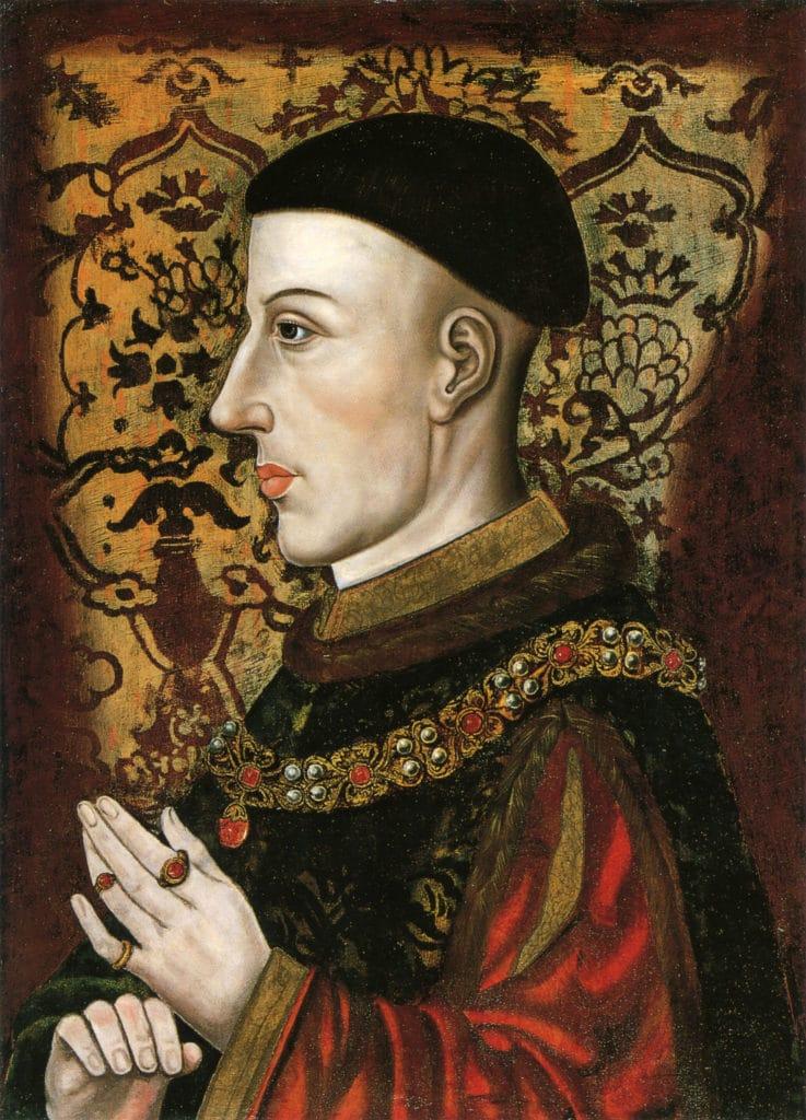 Король Генрих V Ланкастер