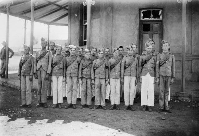 Британские кадеты в битве за Мафекинг