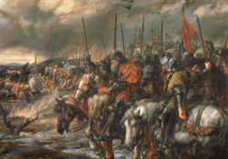 Утро битвы при Азенкуре
