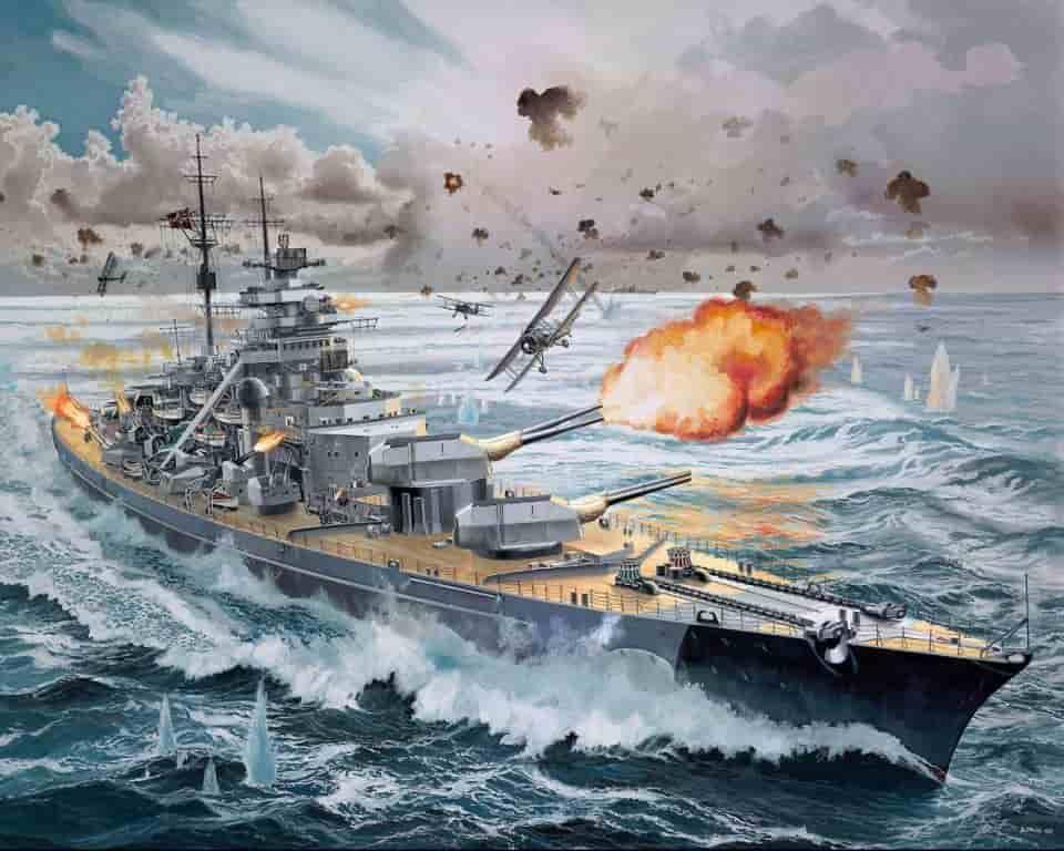 Бисмарк – поход в Вальхаллу