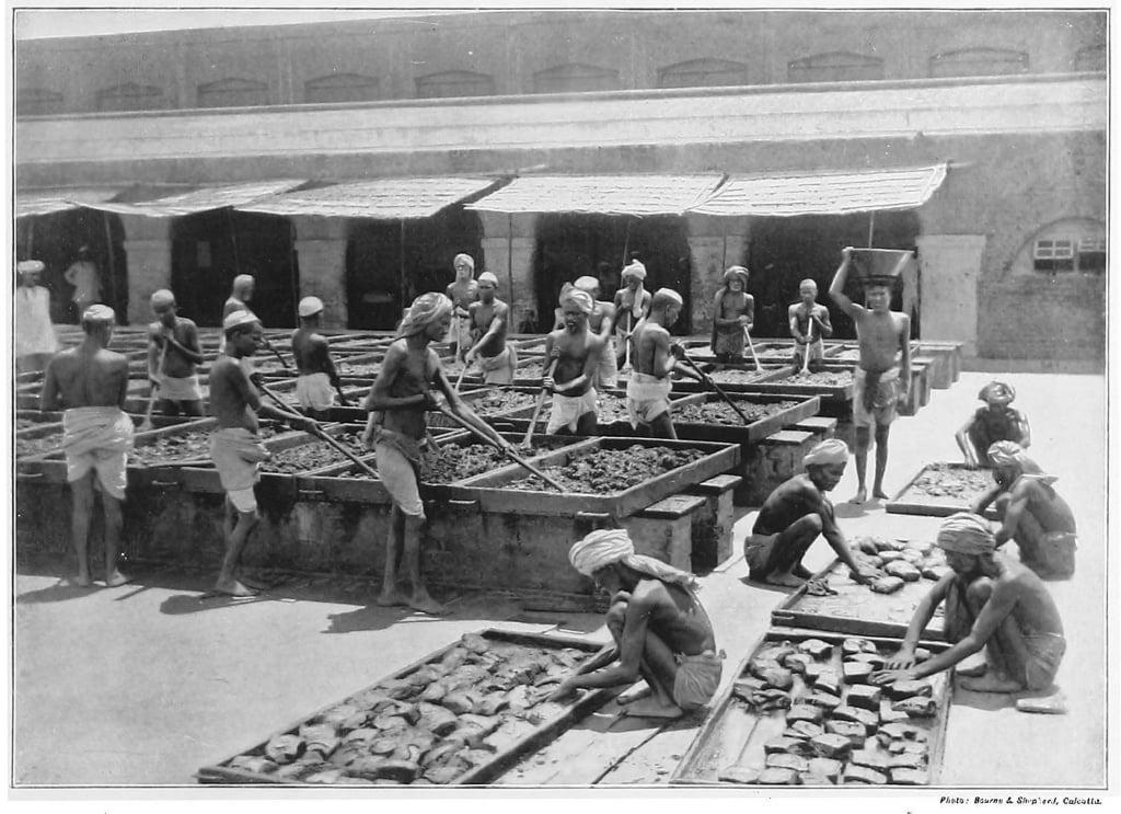 Производство опиума в Индии