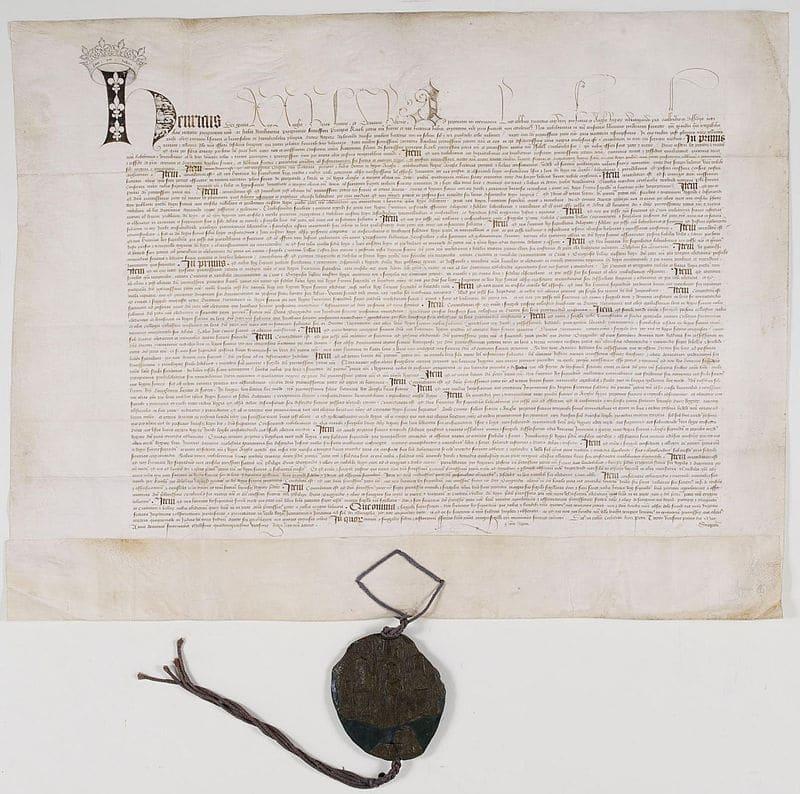 Ратификационная грамота договора в Труа