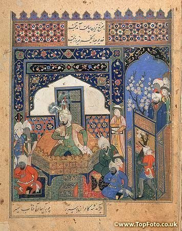 Коронация Тимура в Балхе в 1370 году