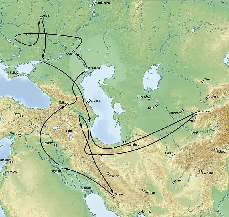 Поход Тимура против Золотой Орды в 1395 году