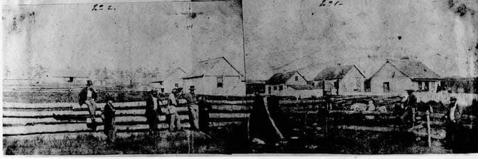 Ферма на которой началась война из-за свиньи