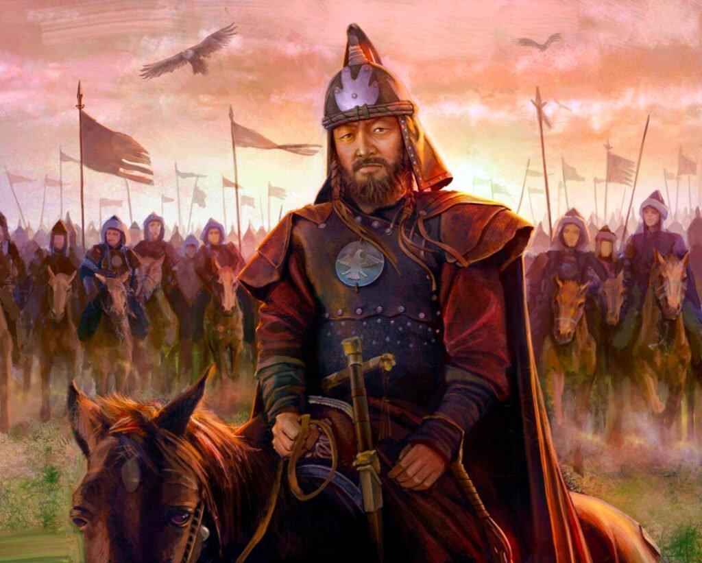 Чингисхан со своей армией