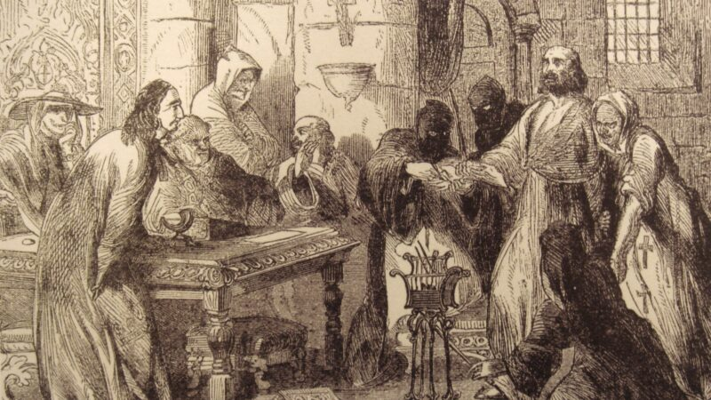 Жак де Моле: последний магистр Ордена Тамплиеров