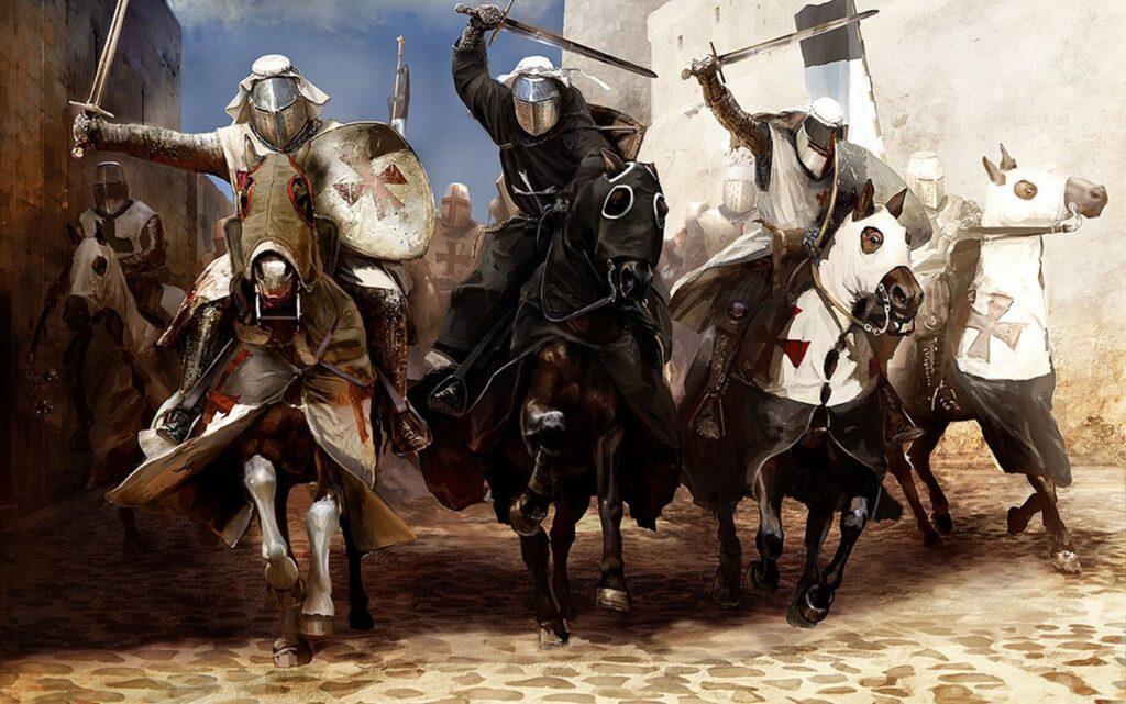 Испанские ордена ведут уличные бои