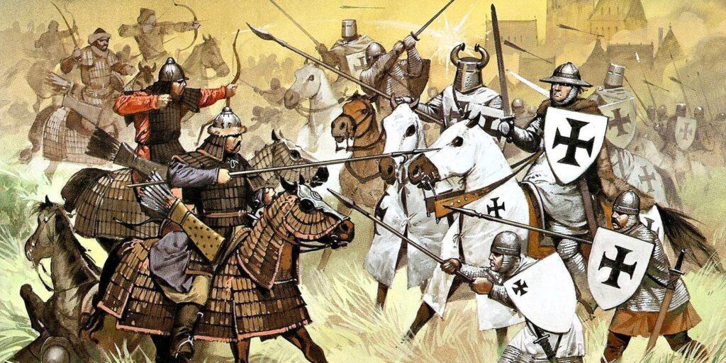 Западный поход Монголов