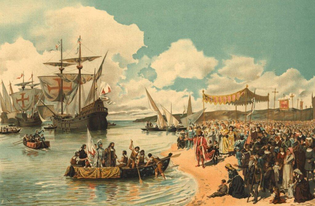 Отплытие Васко да Гама в Индию