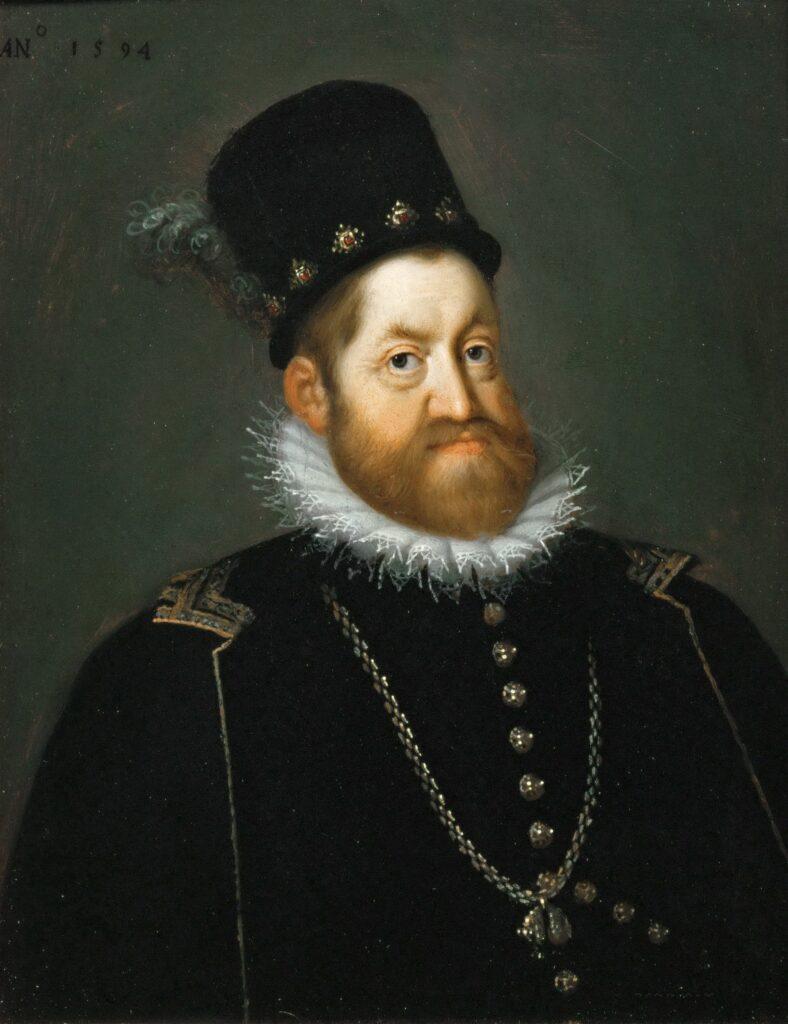 Портрет Рудольфа II. Художник Йозеф Хейнц (Старший)