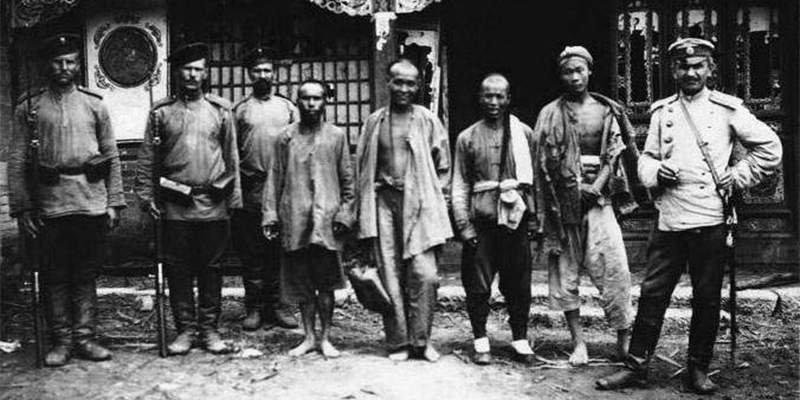 Захваченные китайские шпионы