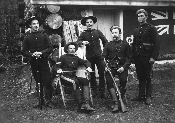 Северо¬-Западная конная полиция