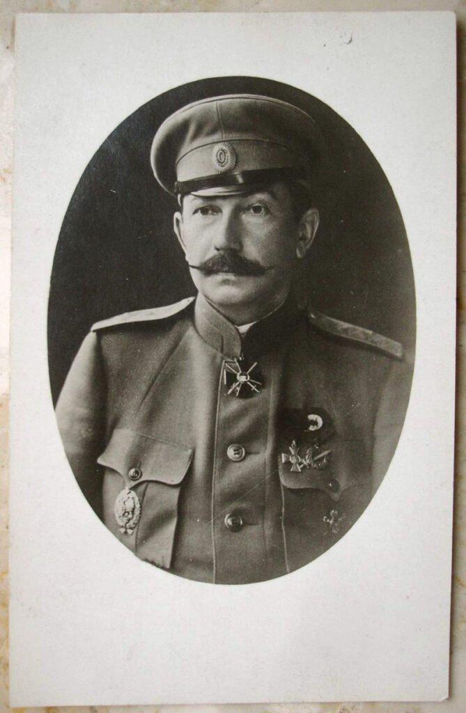 Богаевский Африкан Петрович с орденом Св. Владимира 3 ст. с мечами.
