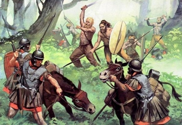 Баугады в бою