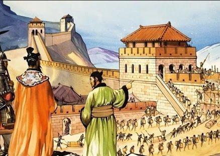 Строительство Великой Китайской стены