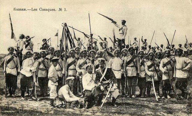 Казаки времен Гражданской войны