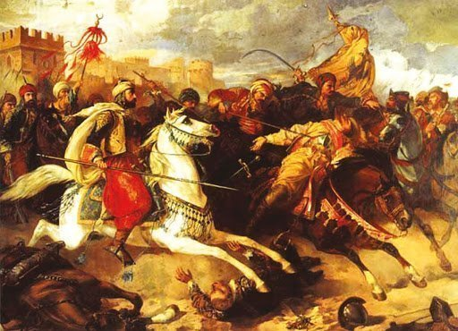 Славянские мамлюки в бою
