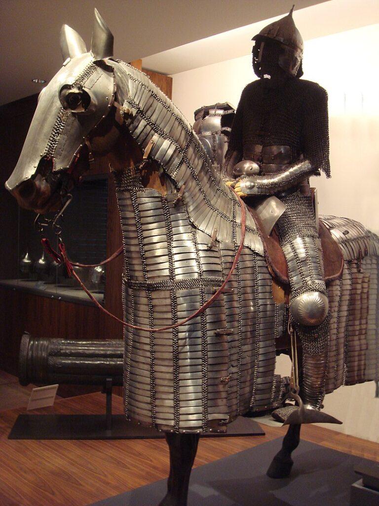 Доспехи мамлюкских всадников XVI века