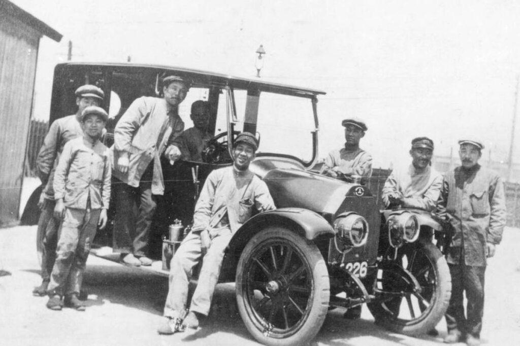 Mitsubishi Model A, 1917