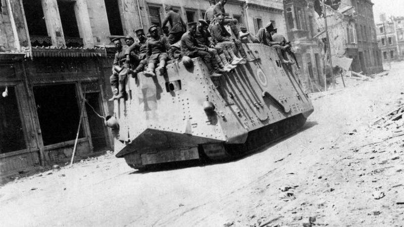 Военные технологии в период Первой мировой войны и разоружение Германии
