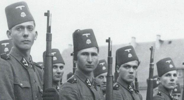 """Солдаты одной из мусульманских дивизий """"ваффен-СС"""""""