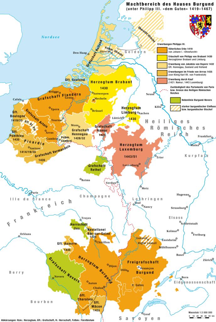 Герцогство Бургундия во время правления Филиппа III Доброго