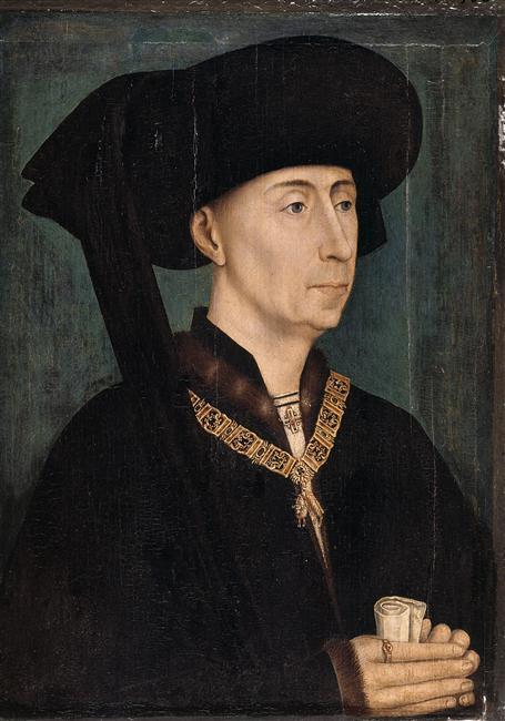 Филипп III Добрый. Портрет работы Рогира ван дер Вейдена