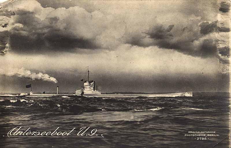 Германская подводная лодка U-9