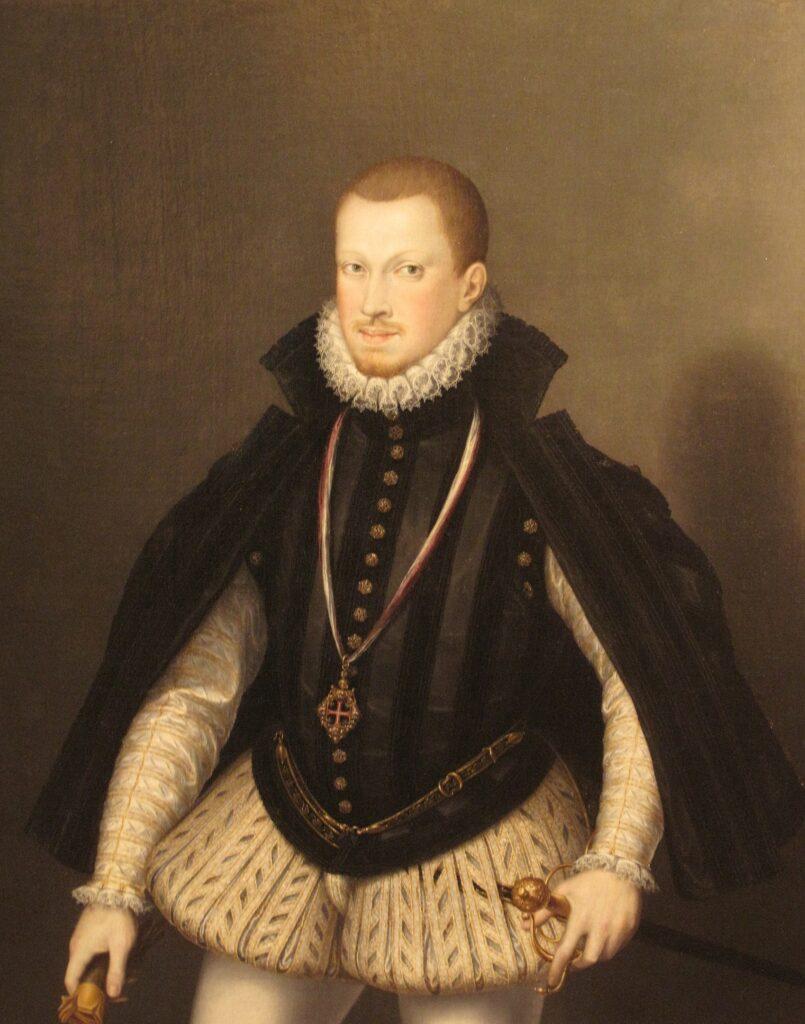Портрет Себастьяна, художник Алонсо Санчес Коэльо
