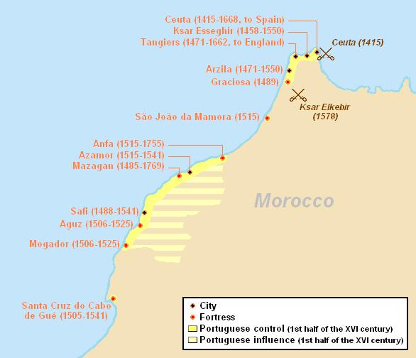Португальские владения в Магрибе