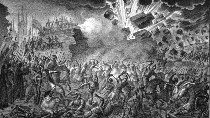 Ливонская война: сражение Европы и России