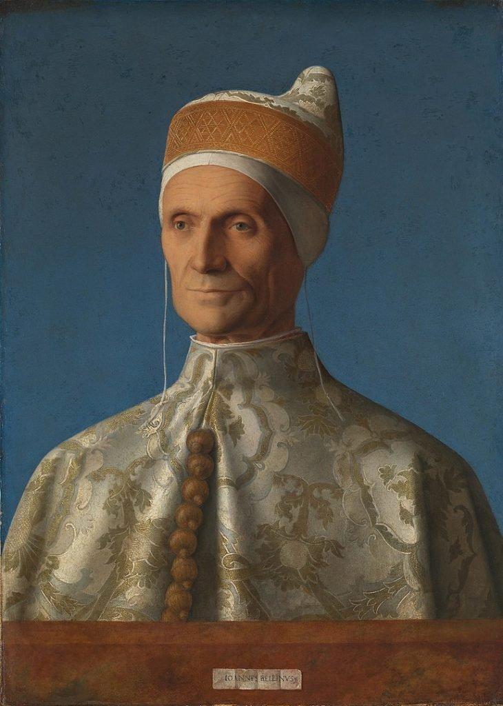 Портрет дожа Леонардо Лоредано в традиционном для дожей головном уборе